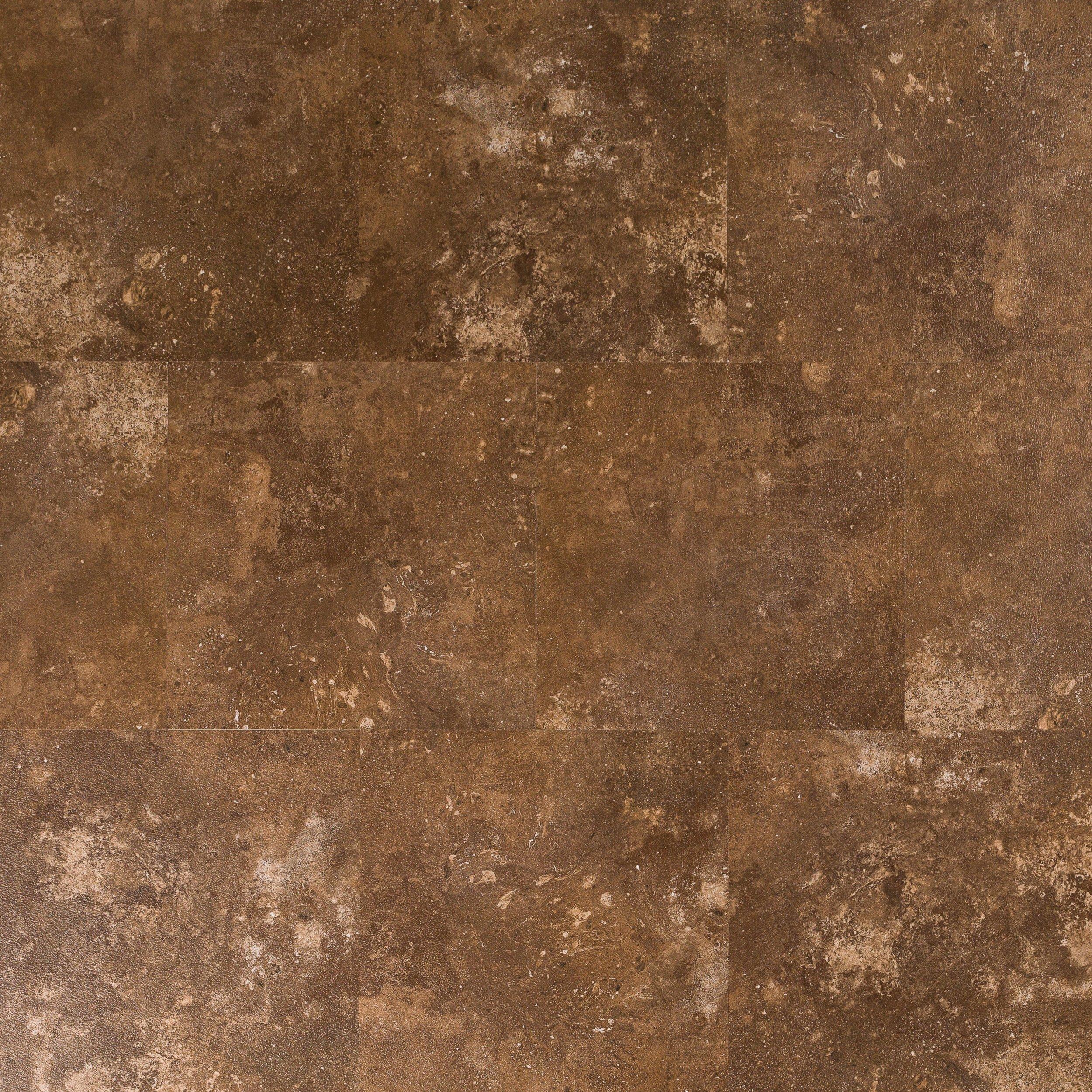 Terracotta Luxury Vinyl Tile 12in x 12in 100384155 Floor