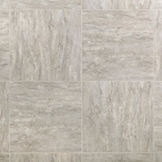 Linear Travertine Groutable Vinyl Tile