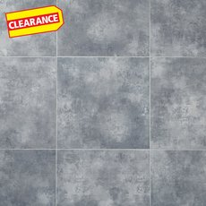 Clearance! Gray Concrete Groutable Luxury Vinyl Tile