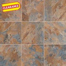 Clearance! Blue Gray Slate Luxury Vinyl Tile
