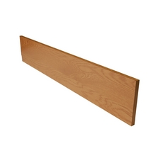 Color 29254TW Red Oak Stair Riser - 42 in.