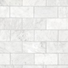 Carrara Milano Honed Marble Tile