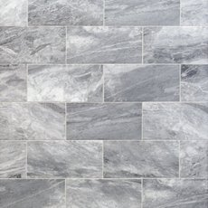 Bardiglio Honed Marble Tile