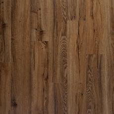 DuraLux Preformance Auburn Oak Matte Luxury Vinyl Plank with Foam Back