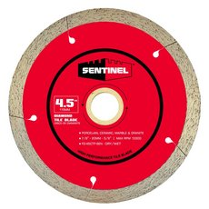 Sentinel 4.5in. Tile Diamond Blade