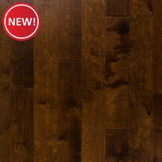 New! Cinnamon Birch Hand Scraped Locking Engineered Hardwood
