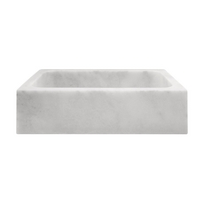 Carrara Milano Marble Sink