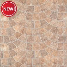 New! Corbin Castle Red Porcelain Tile