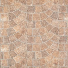 Corbin Castle Red Porcelain Tile