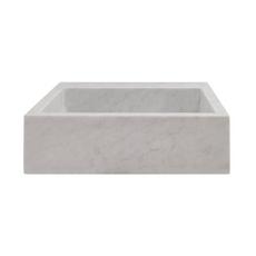 Bianco Carrara Marble Sink