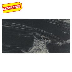 Clearance! Nero Athens Brushed Granite Tile