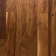Small Leaf Acacia Hand Scraped Engineered Hardwood