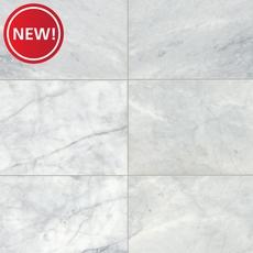 New! Bianco Venatino Polished Marble Tile