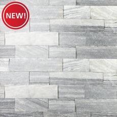 New! Regent Gray Splitface Marble Panel Ledger