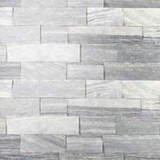 Regent Gray Splitface Marble Panel Ledger
