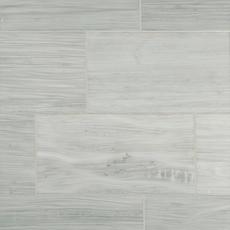 Athena White Polished Marble Tile