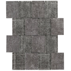 Montage Graphite Denim Multi Finish Glass Mosaic