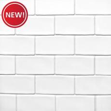New! Frost Brick Ceramic Mosaic