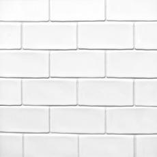 Frost Brick Ceramic Mosaic