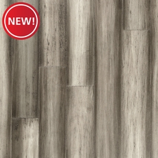 New! EcoForest Aggrent Gray Hand Scraped Solid Stranded Bamboo