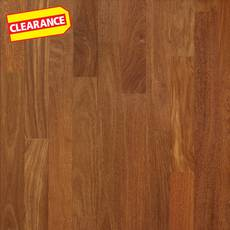 Clearance! Brazilian Chestnut Smooth Solid Hardwood