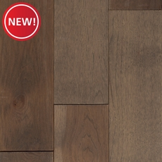 New! Cobblestone Hickory Wire Brushed Solid Hardwood