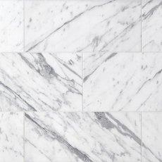 Statuario Polished Marble Tile