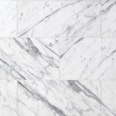 Statuario Polished Marble Tile