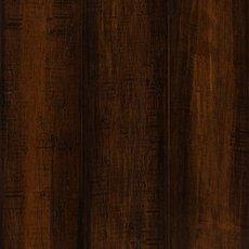Rustic Brown Hand Scraped Locking Stranded Engineered Bamboo
