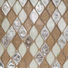 Monaco Umber Glass Mosaic