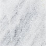 Ready to Install Super White Marble Prefab Slab Includes Backsplash