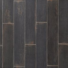 Wood Art Midnight Wood Plank Porcelain Tile
