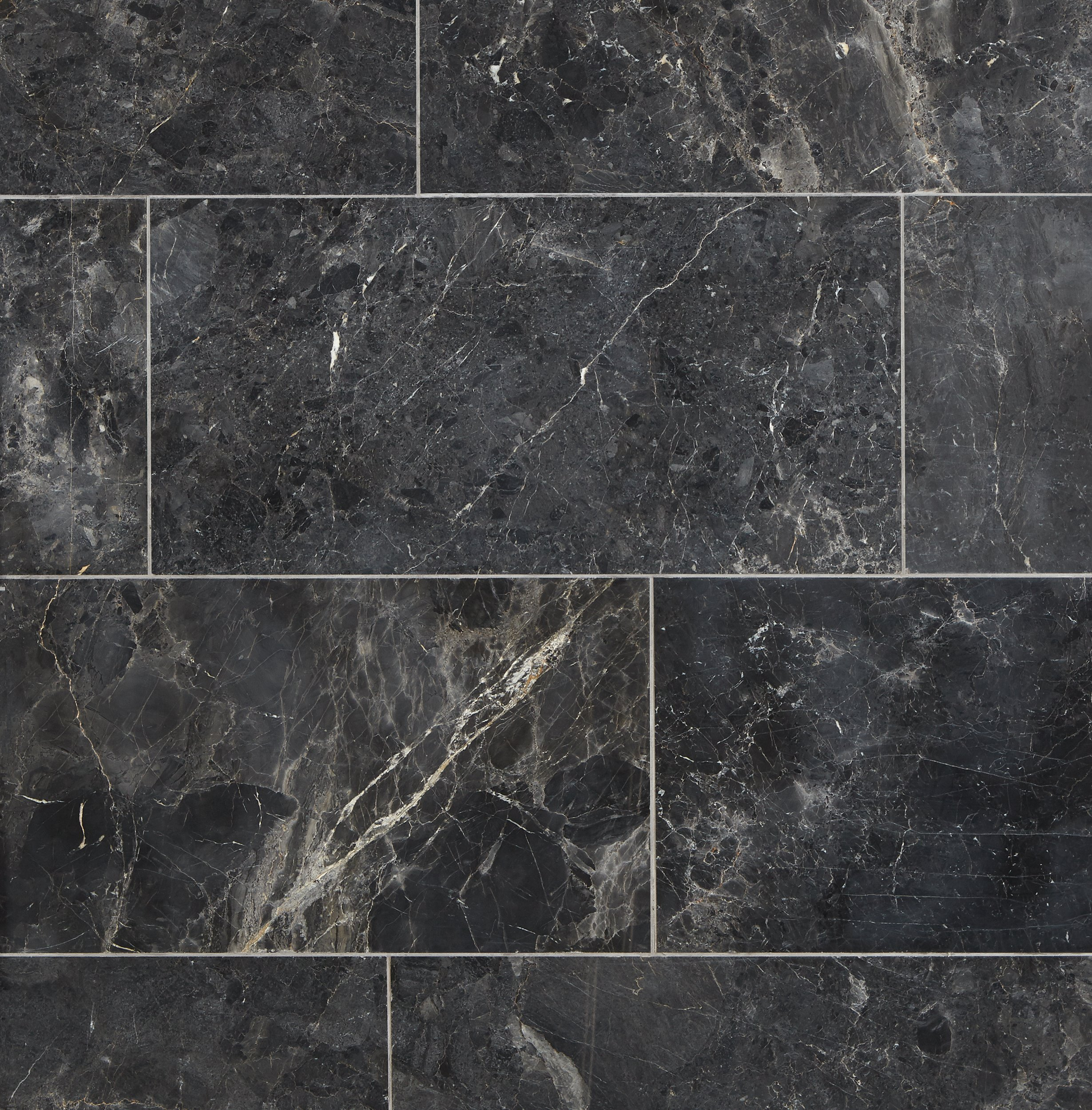 Bardiglio Honed Marble Tile 6 X 12 100403443 Floor And Decor