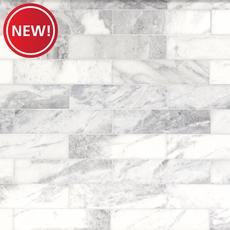 New! Sahara Carrara Polished Marble Tile