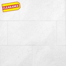 Clearance! Kodiak White Polished Porcelain Tile