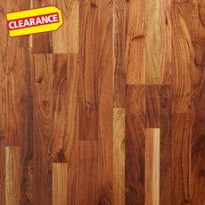 Clearance! Natural Acacia Hand Scraped Engineered Hardwood