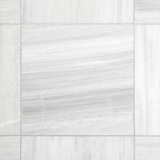 Ice White Honed Marble Tile