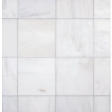 Carrara White Light Honed Marble Tile