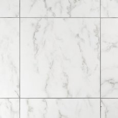 Carrara White Polished Ceramic Tile