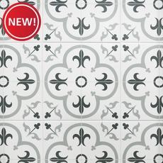 New! Florentina Gray Ceramic Tile