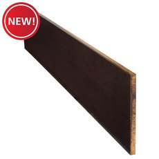 New! Color 29349TW Stranded Natural Bamboo Stair Riser - 42 in.