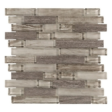 Sterling Wood Glass Mosaic