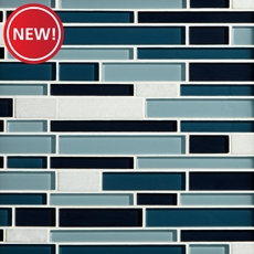 New! Town Harbor Glass Mosaic