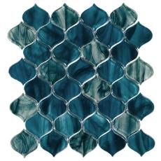 Montage Marina Del Ray Arabesque Glass Mosaic