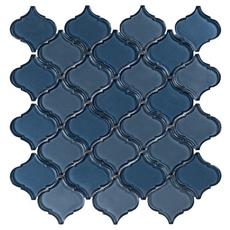 Montage Sapphire Arabesque Glass Mosaic