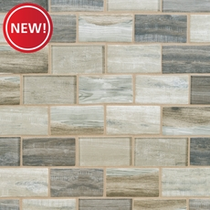 New! Sand Drift Glass Mosaic