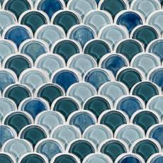 Waterscape Glass Mosaic