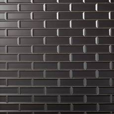 Frosted Lilac Glass Tile