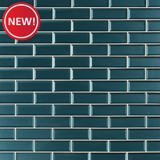 New! Royal Peacock Glass Wall Tile
