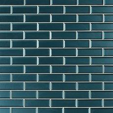 Royal Peacock Glass Wall Tile